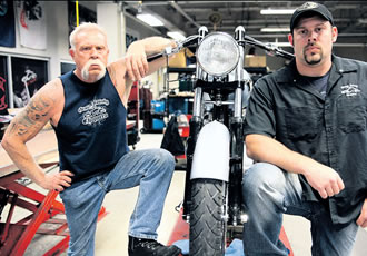 Paul Sr. and Paul Jr. in American Chopper. On Jim on Sundays at 11 am and 10 pm.