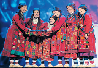 The Russian grannies – they sing, they bake, they didn't win. A travesty.