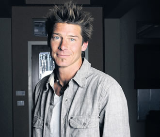 Ty Pennington, the host of Extreme Makeovers – carpenter and mad man.