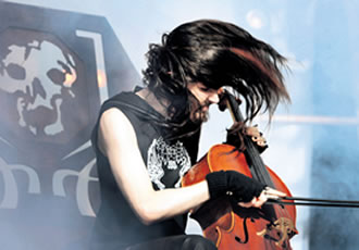 Apocalyptica is famous for its unique cello-metal worldwide.