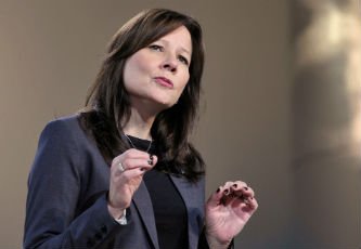 Another glass ceiling shatters with the appointment of Mary Barra as the CEO of General Motors.