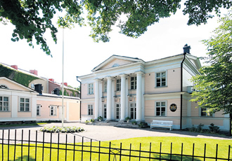 Villa Kleineh is a historical building and the oldest villa in Helsinki's Kaivopuisto. It is the residence of the Ambassador of The Netherlands at the moment.