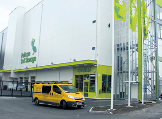 The New Pelican Self Storage Site In Olari Espoo