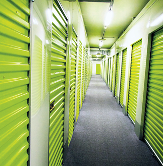 Self Storage Companies Differ From One Another By The Colour Of Their Units Doors