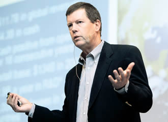 Sun Microsystems CEO Scott McNealy is considered as a counterweight to Bill Gates and Microsoft in the industry.