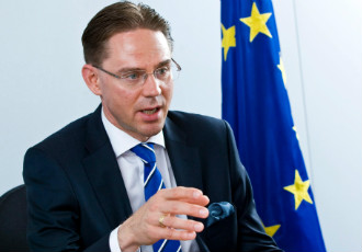 Interim commissioner Jyrki Katainen (NCP) is currently putting together a personal staff with a high representation of foreigners to help stay in contact with other commissioners and member states.