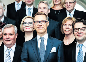 The popularity of Alexander Stubb's Government is languishing at 16 per cent.