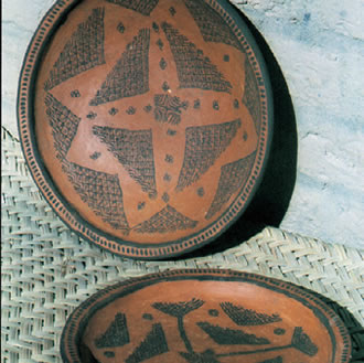 Traditional ceramics of the village of Kalpourkan.