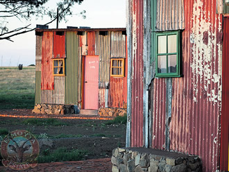 In Bloemfontein, South Africa, a mere $82 per night will get you a private shack, made of corrugated tin sheets, so you can experience the charm of living in a post-apartheid shantytown, without ever having to set foot in one.