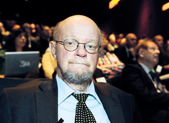 The Greens' Osmo Soininvaara has been the main champion of the idea of basic income.