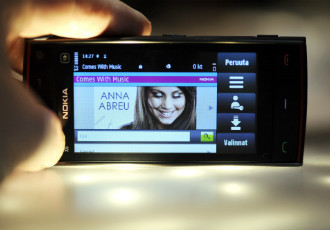Nokia presented its Symbian-powered music-oriented flagship handset, Nokia X6, in Espoo in 2009.