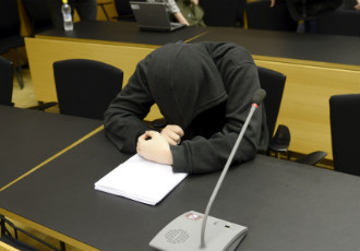 The male defendant was sentenced to a prison term of three years and one month for conspiring to kill up to 50 people at the University of Helsinki.