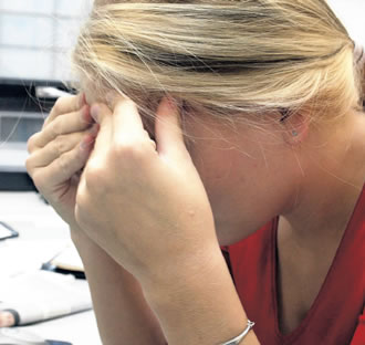 Mental stress may have a stronger effect on women than men.