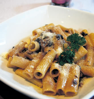 Rigatoni Con Gorgonzola E Radicchio is set to appear on the restaurant's new menu.