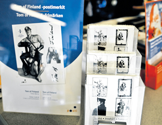 A set of homoerotic Finnish stamps featuring images by gay icon and artist Tom of Finland have become a worldwide success, Finland's postal service company said.