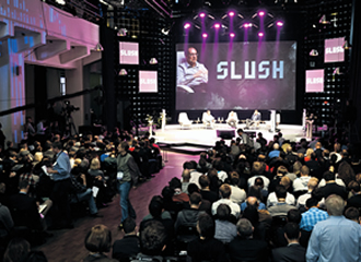 A leading start-up conference in Northern Europe and Russia, Slush was held at Helsinki's Cable factory in November last year.