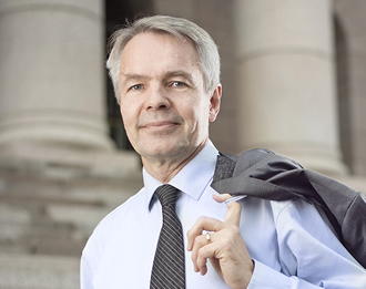 Pekka Haavisto is a Green member of Finnish Parliament, and Member of Committee for Foreign Affairs and Committee for Defence.