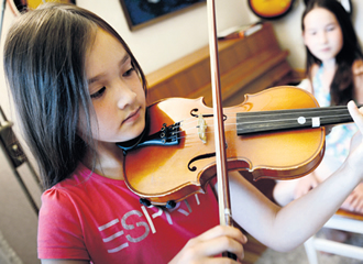 An American study has found that playing an instrument accelerated cortical organisation in attention skill, anxiety management and emotional control in children.