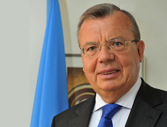 Mr. Yury Fedotov is the Executive Director of the United Nations Office on Drugs and Crime. Prior to becoming Director General/Executive Director of UNOV/UNODC, Mr. Fedotov served as Ambassador Extraordinary and Plenipotentiary of the Russian Federation to the Court of St. James's in London for five years. Before that, from 2002 to 2005, he was the Deputy Minister of Foreign Affairs of the Russian Federation for International Organizations.