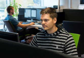 Kalle Laukkonen, a former software engineer at Nokia, is currently working as a product owner for Relax Gaming in Tallinn.