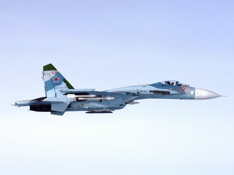 A Russian Flanker, also known as a Sukhoi Su-27, is suspected of entering Finnish airspace at 4.43pm on 6 October, 2016, according to the Finnish Air Force.