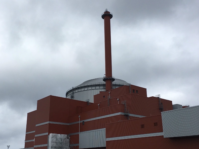 The Olkiluoto Nuclear Power Plant was initially to start up its third reactor in 2009.