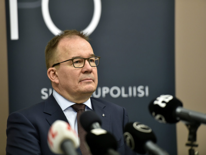 Antti Pelttari, the director of the Finnish Security Intelligence Service (Supo), commented on the terror threat level in Finland in Helsinki on Saturday, a day after an 18-year-old Moroccan man stabbed ten people in Turku.