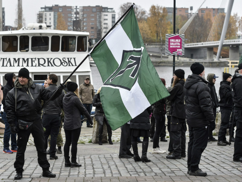 The District Court of Pirkanmaa has accepted a legal action to dissolve the Nordic Resistance Movement after concluding that the activities of the organisation violate the basic and human rights of others.