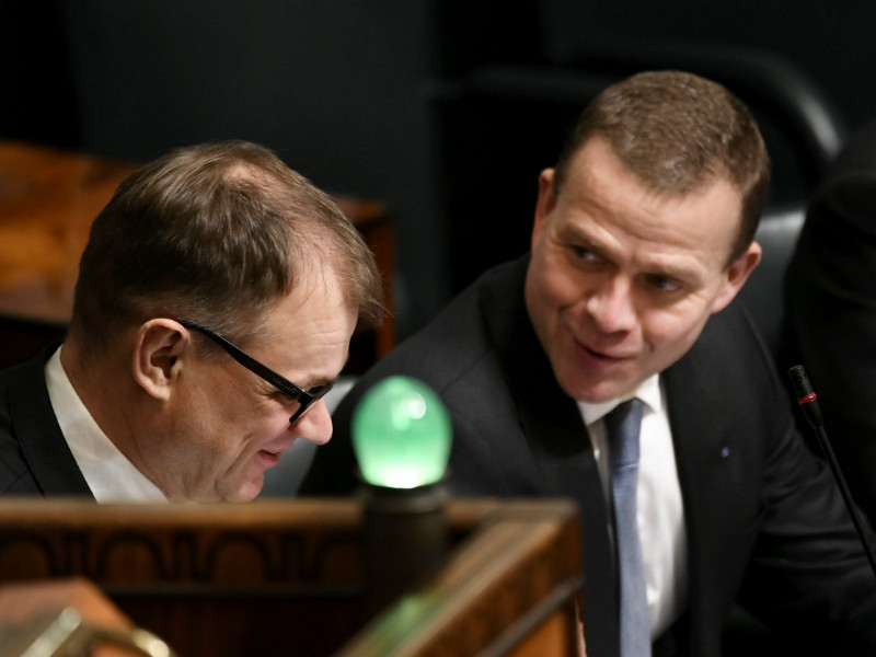 Prime Minister Juha Sipilä (Centre) and Minister of Finance Petteri Orpo (NCP) should have more political power according to roughly one-fifth of Finns, finds a new survey by Iltalehti and Uusi Suomi.