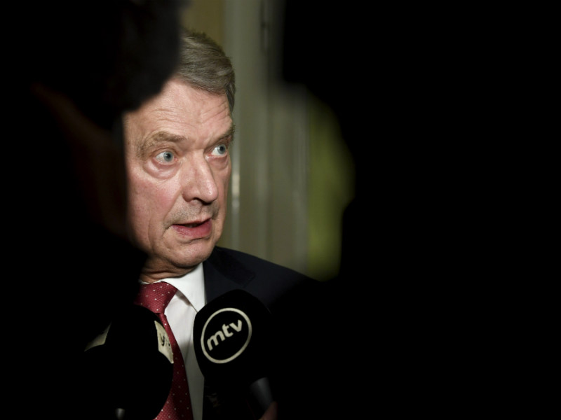 Three-quarters of Finns expect President Sauli Niinistö to secure re-election already in the first round of voting of the presidential elections held on 28 January, 2018.