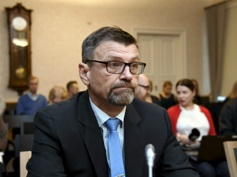 Suspended Prosecutor General Matti Nissinen was photographed attending a hearing at the Supreme Court of Finland in Helsinki on 15 November, 2017.
