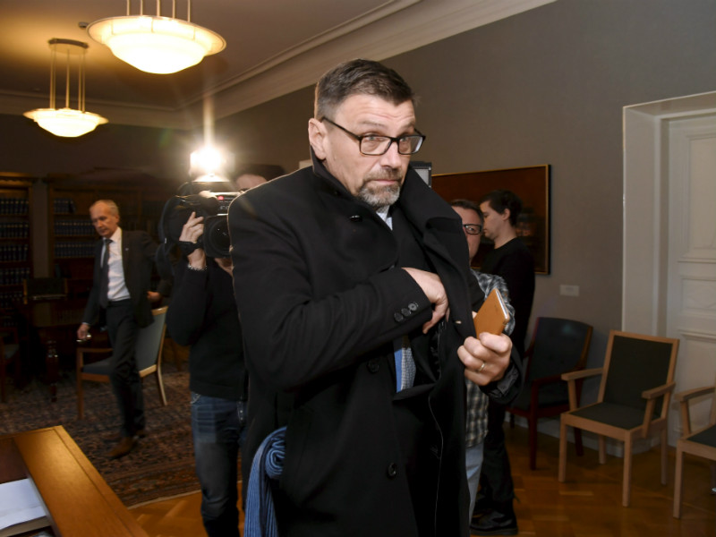 Prosecutor General Matti Nissinen was photographed leaving a courtroom at the Supreme Court of Finland (KKO) on 15 November, 2017.