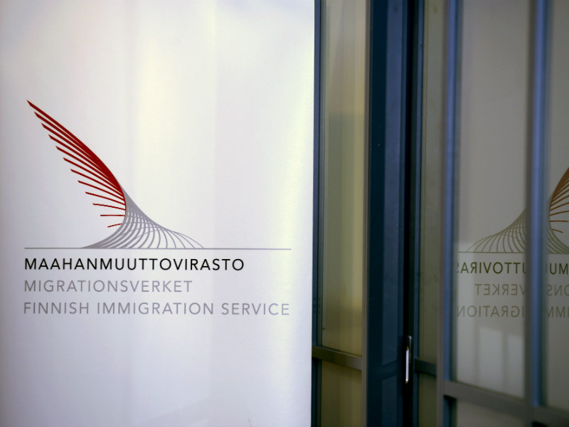 The head office of the Finnish Immigration Service (Migri) in Helsinki on 17 January, 2017.
