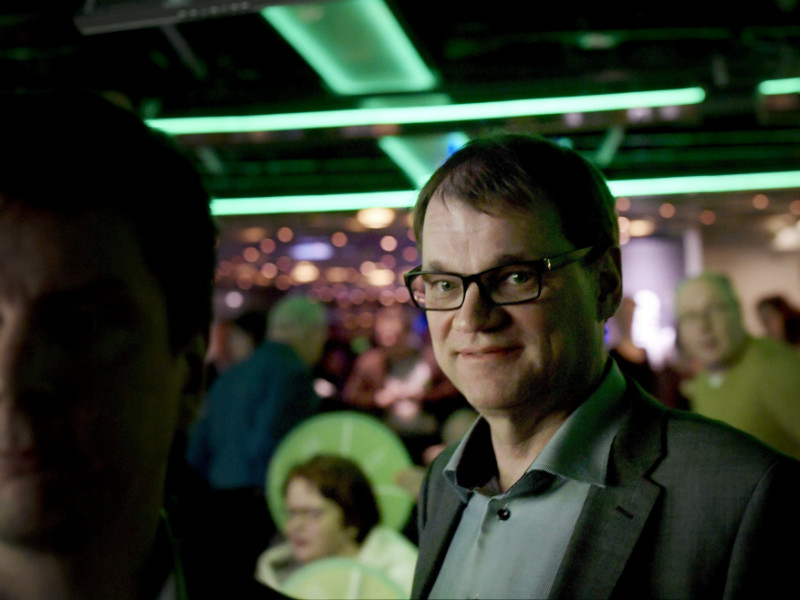 Prime Minister Juha Sipilä (Centre) kicked off the municipal election campaign of the Centre Party on Sunday.
