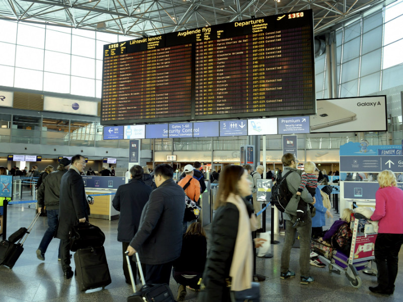 A work stoppage disrupted the travel plans of roughly 8,000 passengers on 10 March, 2017.