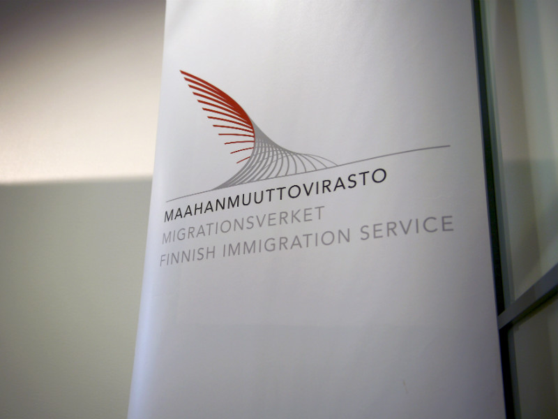 The Finnish Immigration Service's head office in Helsinki on 17 January, 2017.