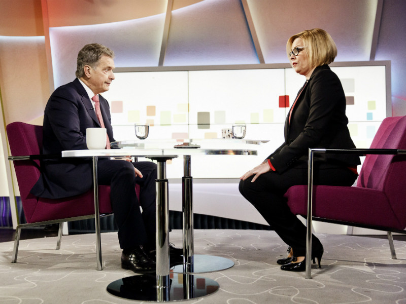President Sauli Niinistö commented on a number of topical issues in an interview on YLE TV1 on Saturday.