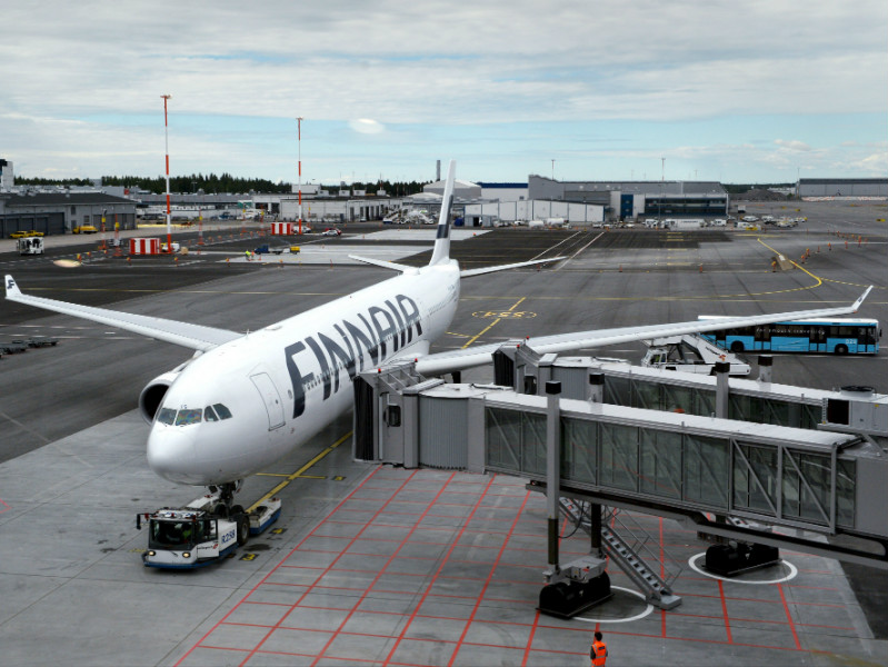 Finnair on Thursday revealed that a record number of passengers flew with it in the second quarter of the year.