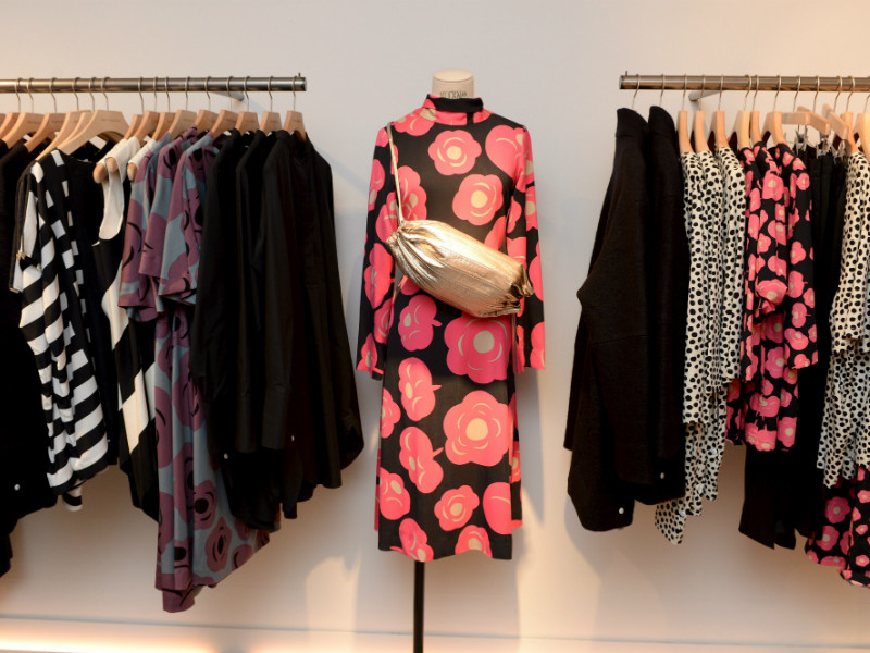 Marimekko's products were on display in the flagship store of the iconic design house in downtown Helsinki on 10 August, 2017.