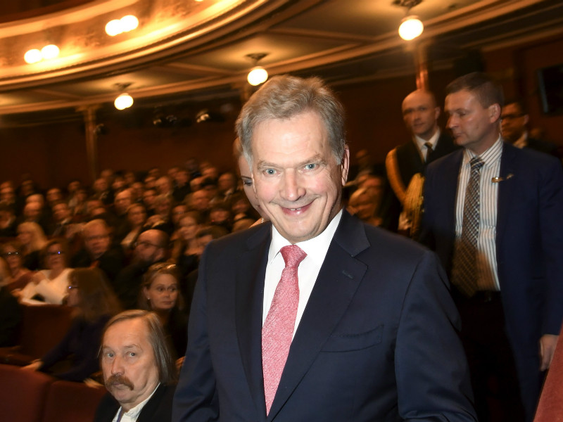 Over three-quarters of Finns would grant Sauli Niinistö a second term as the President of Finland, according to a poll commissioned by YLE.