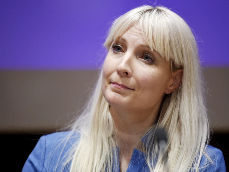 Laura Huhtasaari (PS) was officially nominated as the presidential candidate of the Finns Party on 23 September, 2017.