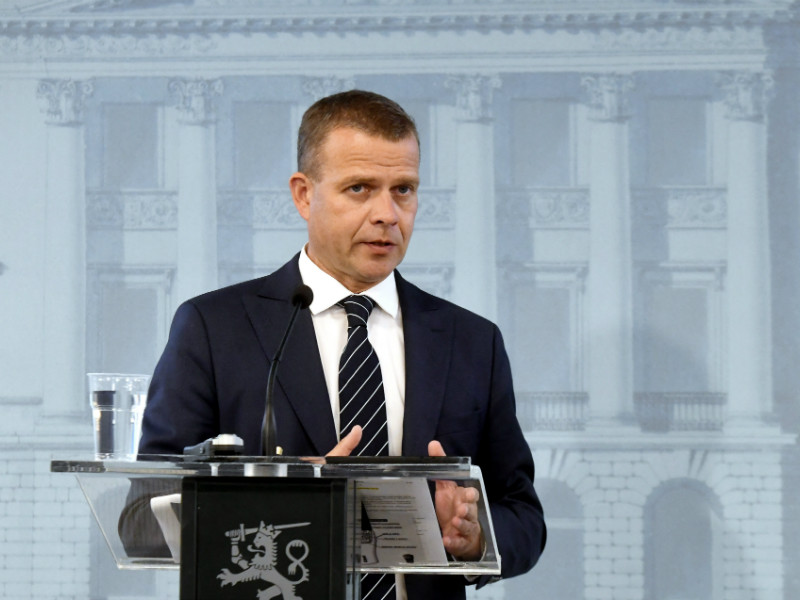 """We can't be in such a strong economic position and let future generations pick up the tab,"" says Petteri Orpo (NCP), the Minister of Finance."