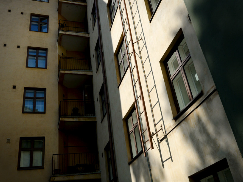 Blocks of flats in Töölö, Helsinki. The Finnish capital has no so-called bad neighbourhoods, insists Deputy Mayor for Culture and Leisure Nasima Razmyar (SDP).