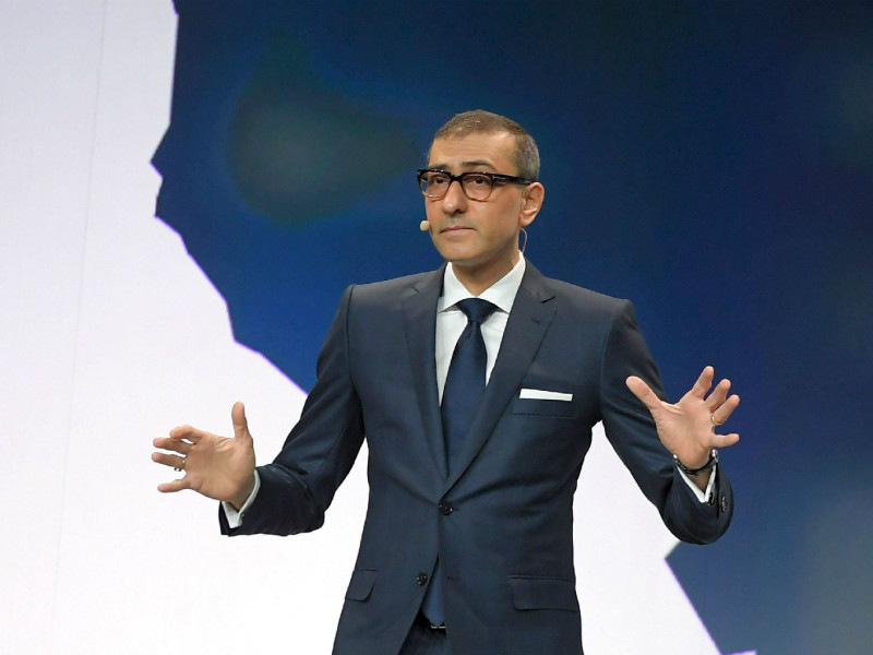 Nokia CEO Rajeev Suri spoke at a press conference on the eve of the Mobile World Congress (MWC) in Barcelona, Spain, on 25 February, 2018.