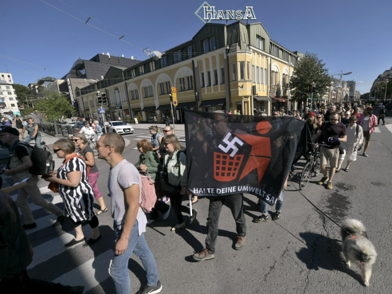 Over 1,000 people are estimated to have participated in a demonstration called Turku Ilman Natseja (Turku Without Nazis) in Turku on Saturday, 18 August.