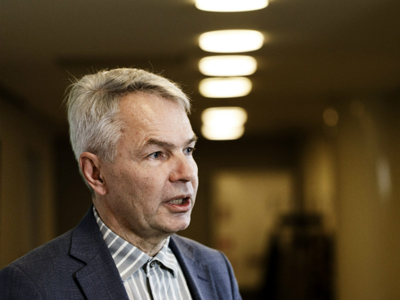 Pekka Haavisto, the newly elected interim chairperson of the Green League, has had a positive impact on the opposition party's performance in opinion polls. (Credit: Roni Rekomaa – Lehtikuva)