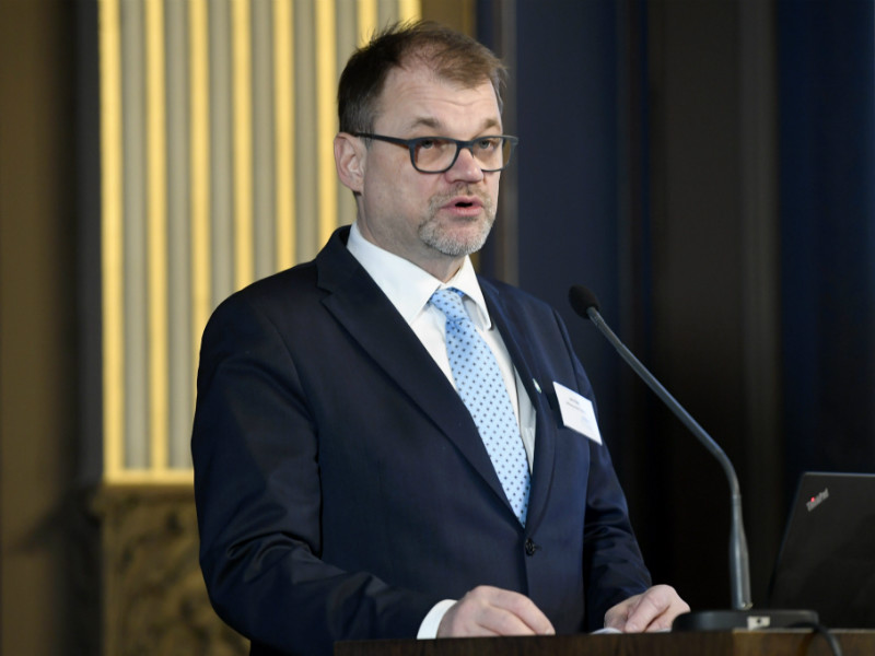 Prime Minister Juha Sipilä (Centre) on Monday urged Finland to adopt an active approach to developing a market for carbon sinks in Europe. (Credit: Heikki Saukkomaa – Lehtikuva)