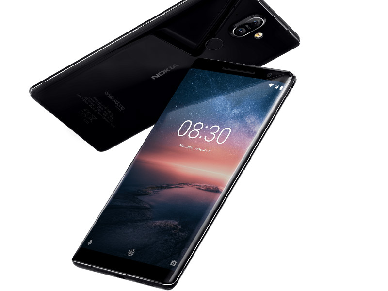 HMD Global, an Espoo-based developer and marketer of Nokia-branded mobile phones, unveiled its new flagship smartphone, the Nokia 8 Sirocco at Mobile World Congress in Barcelona, Spain, on Sunday.