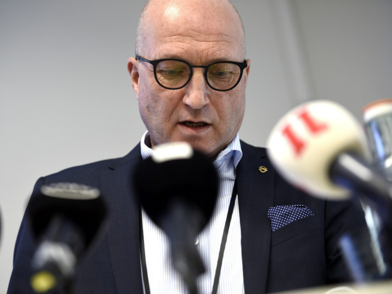 Olli Isotalo, the CEO of Patria, spoke about the defence contractor's role and actions leading up to the recent events in Uganda in a press conference in Helsinki on Wednesday, 21 February.
