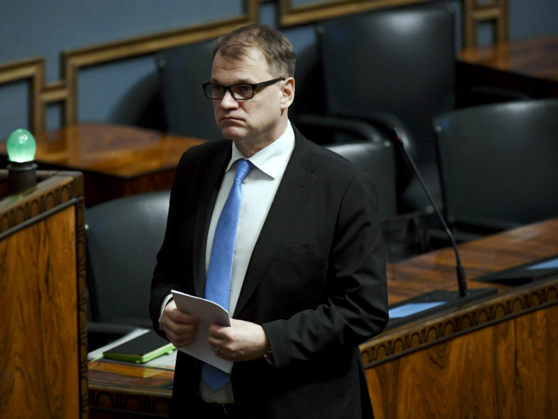 Almost a sixth of voters would currently vote for Prime Minister Juha Sipilä's Centre Party, finds a poll commissioned by Helsingin Sanomat.